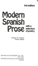 Modern Spanish Prose