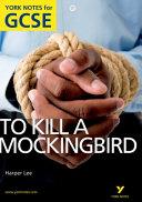 To Kill a Mockinbird  Harper Lee