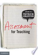 Assessment for Teaching