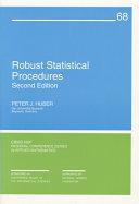 Robust Statistical Procedures