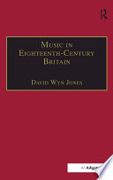 Music in Eighteenth-Century Britain
