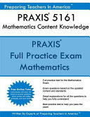 Praxis II 5161 Mathematics Content Knowledge