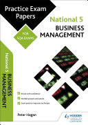 National 5 Business Management: Practice Papers for SQA Exams