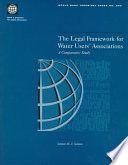The Legal Framework for Water Users  Associations