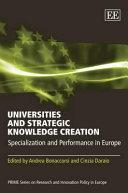Universities and Strategic Knowledge Creation