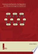 Prozessmodellbasierte Konfiguration von Wissensmanagementsystemen