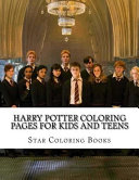 Harry Potter Coloring Pages for Kids and Teens