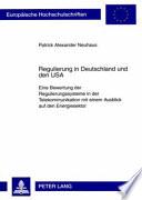 Regulierung in Deutschland und den USA