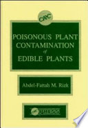 Poisonous Plant Contamination of Edible Plants And Toxicological Aspects Of Poisonous