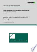"Editorial ""Kolloquium Arbeitswissenschaftliche Forschung"""