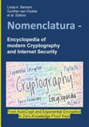 Nomenclatura Encyclopedia Of Modern Cryptography And Internet Security