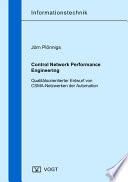 Control network performance engineering