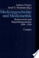 Medizingeschichte und Medizinethik