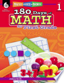 180 Days of Math for First Grade  Practice  Assess  Diagnose