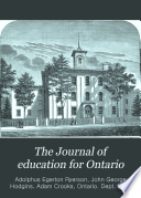The Journal of Education for Ontario