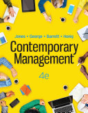 Contemporary Management, Fourth Edition
