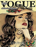Vogue 1950s Adult Coloring Book : excitement and beauty. now you can bring...