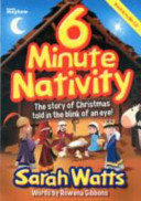 6 Minute Nativity : eye! book and audio cd. (words and...
