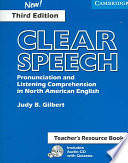 Clear Speech Teacher s Resource Book