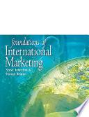 Foundations of International Marketing