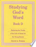 Studying Gods Word D