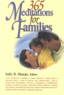 365 Meditations For Families