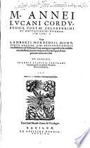 Read Pharsaliae libri decem