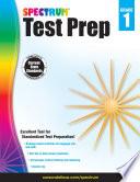 Spectrum Test Prep Grade 1