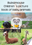 Bubsimouse animal baby picture book