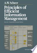 Principles of Efficient Information Management