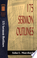 175 Sermon Outlines Sermon Outline Series