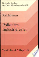 Polizei im Industrierevier