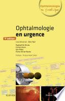 illustration du livre Ophtalmologie en urgence