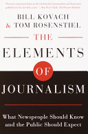 The Elements of Journalism Sat Down To Try And Discover What Had