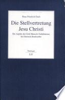 Die Stellvertretung Jesu Christi