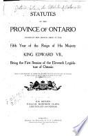 Lois de L Ontario