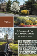 A Framework for HOA Management