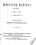Intelligenzblatt von Salzburg