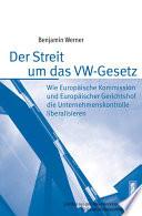 Der Streit um das VW-Gesetz