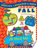 Reading  Language   Math Activities  Fall