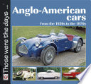 Anglo American Cars