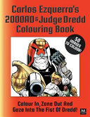 Carlos Ezquerra's 2000ad and Judge Dredd Colouring Book