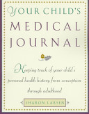 Your Child s Medical Journal