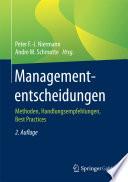 Managemententscheidungen