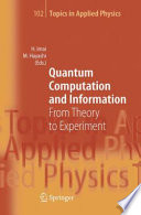 Ebook Quantum Computation and Information Epub Hiroshi Imai,Masahito Hayashi Apps Read Mobile