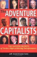 The Adventure Capitalists book