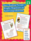 Short Reading Passages & Graphic Organizers to Build Comprehension