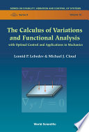 The Calculus of Variations and Functional Analysis