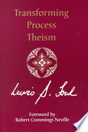 Transforming Process Theism