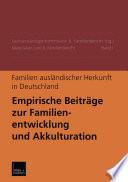 Familien ausländischer Herkunft in Deutschland